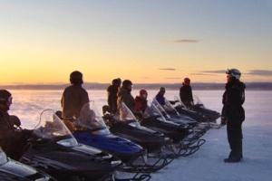 Snowmobile, Sälenaktiviteter, Lindalens Fäbod, cross country skiing, Kalven runt