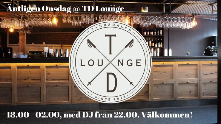äntligen onsdag, klubb, td lounge, DJ, nöje tandådalen, nöje sälen, klubb sälen, klubb tandådalen, Jonas i Sälen, Tandådalen