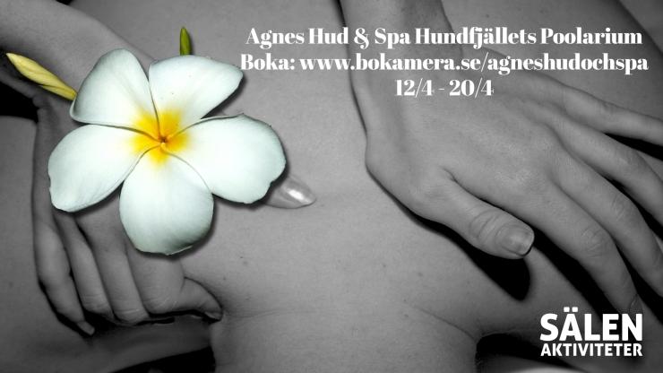 Agnes Hud & Spa, Spa Hundfjället, SPA, massage, Sälen, SPA Sälen