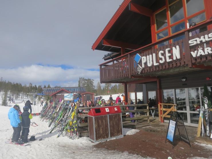 Pulsen, Östra Tandådalen, pulsen tandådalen, lucnh i backen, restaurang tandådalen, Snow Park, parkåkning, Valles skidland, varm choklad