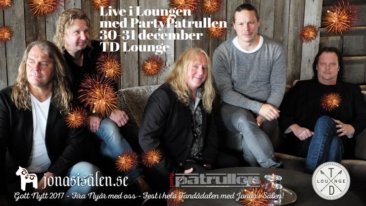 Live i Lounge, TD Lounge, partypatrullen, tandådalen lounge, live music, Jonas i Sälen, nöje sälen, nyår sälen, Wärsan Nightclub, wärsan, nattklubb sälen, veckoprogram