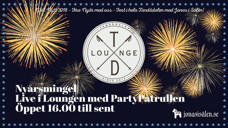 TD Lounge, Live i Loungen, PartyPatrullen, Jonas i Sälen, Tandådalens Wärdshus, nöje sälen, nyår sälen, nyår tandådalen, fest tandådalen, fest sälen