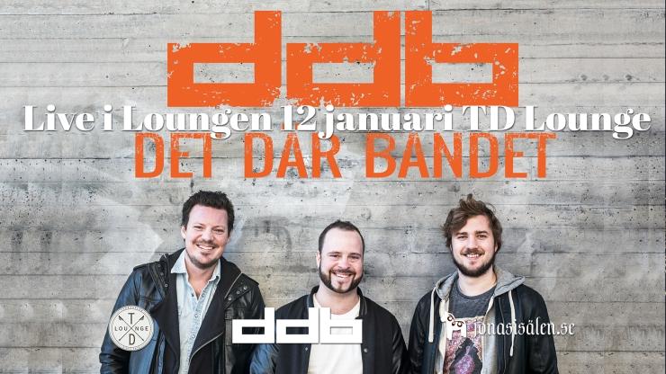live i loungen, TD Lounge, tandådalen lounge, live music, DDB, Det Där Bandet, Jonas i Sälen