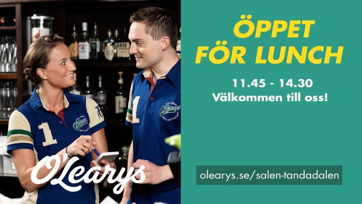 lunch, lunch tandådalen, olearys tandådalen, lunch buffé, Jonas i Sälen, Tandådalen, Sälen