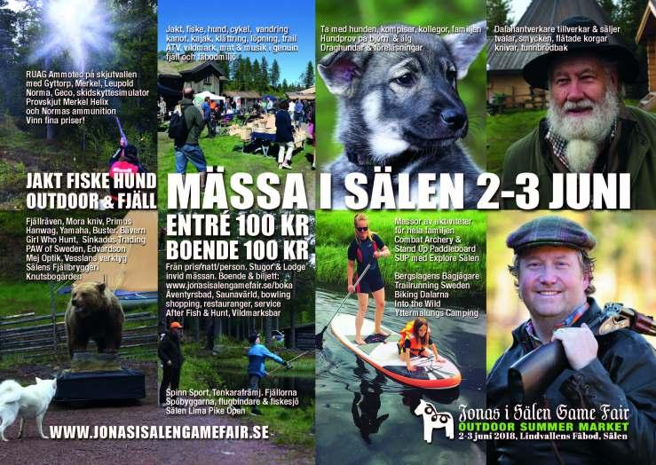 gamefair, jaktmässa, fiskemässa, jaktmässa sälen, fiskemässa sälen, Jonas i Sälen Game Fair, outdoor mässa, cykel sälen, vandring sälen, traillöpning sälen, Jonas i Sälen, Lindvallens Fäbod